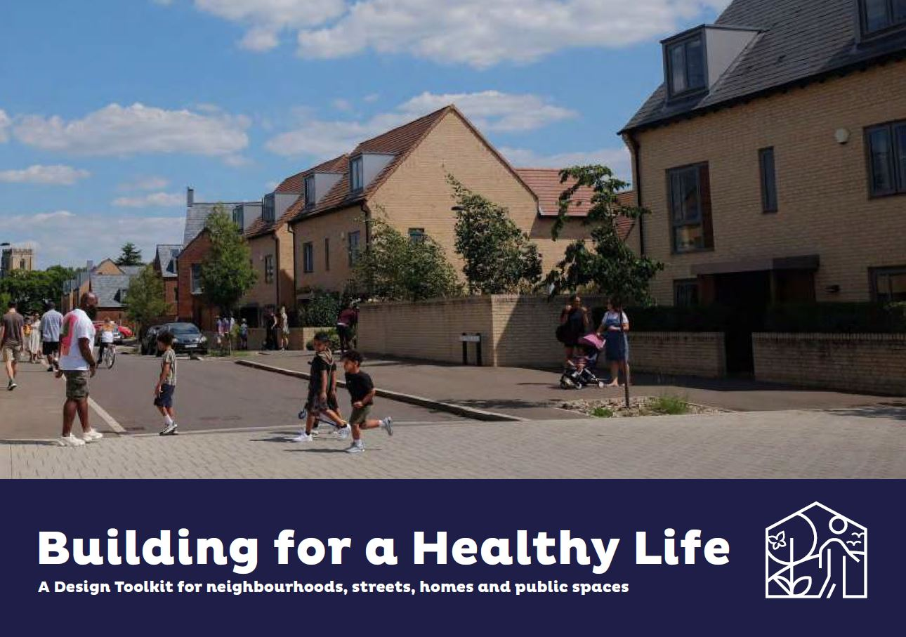 Cover photo of the Building for a Healthy Life toolkit