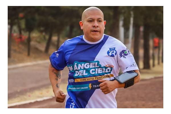 Cancer survivor running