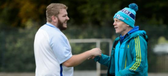 Men improving their mental health through sport