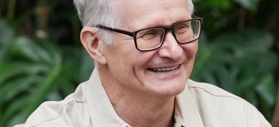Long term condition survey man smiling