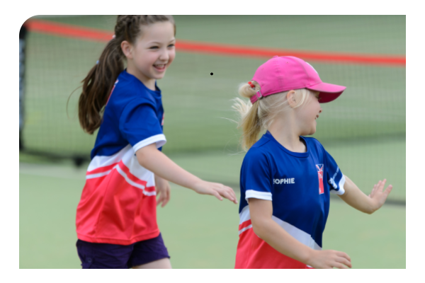 Safeguarding two young girls playing at a sports club