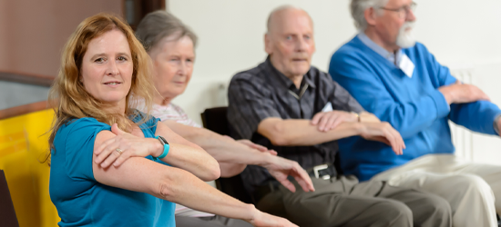 Older Adults Exercise Class