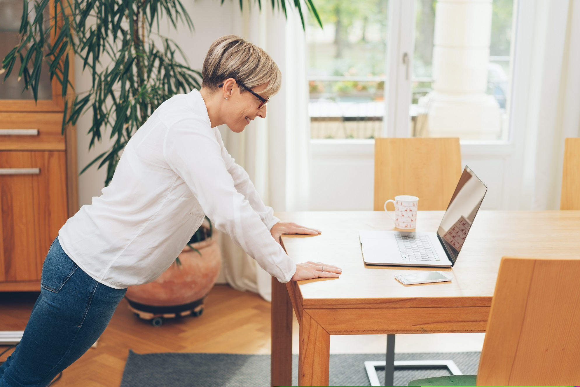 Active workplaces encouraging employees to be active