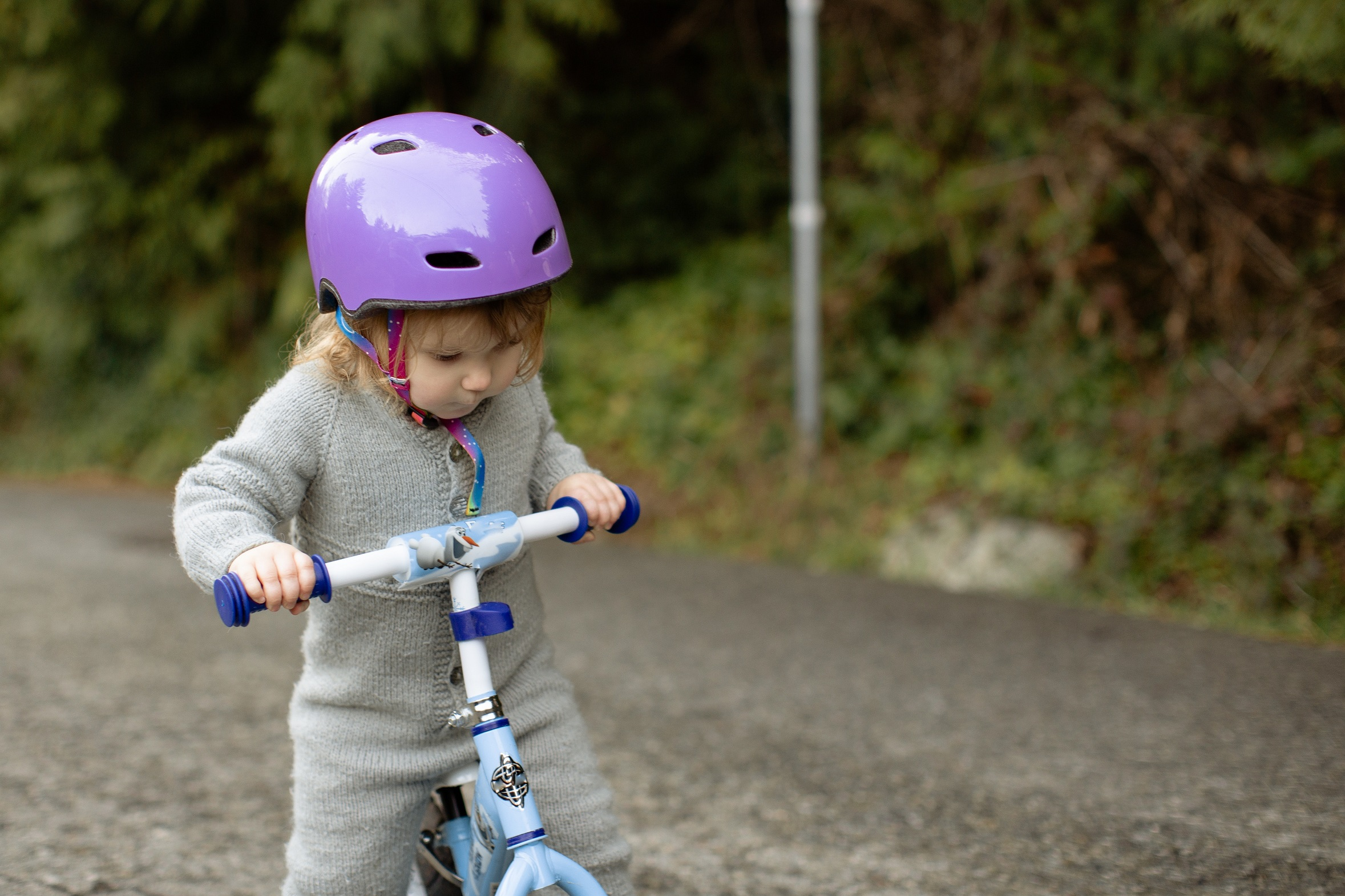 Child being active in early years