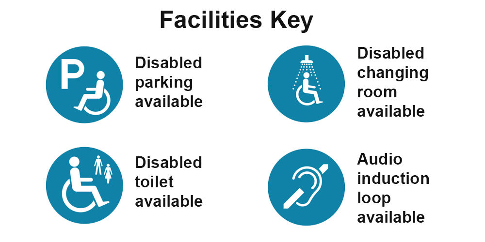 Facilities key for On the Move map