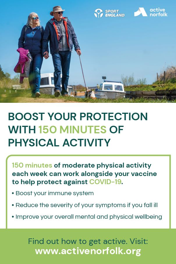 Example of Large Format physical activity poster