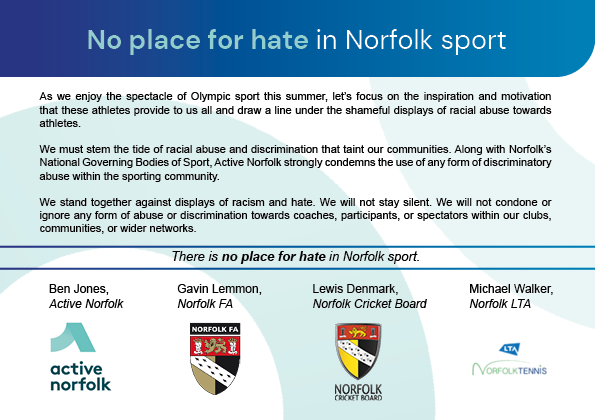 No place for Hate commitment