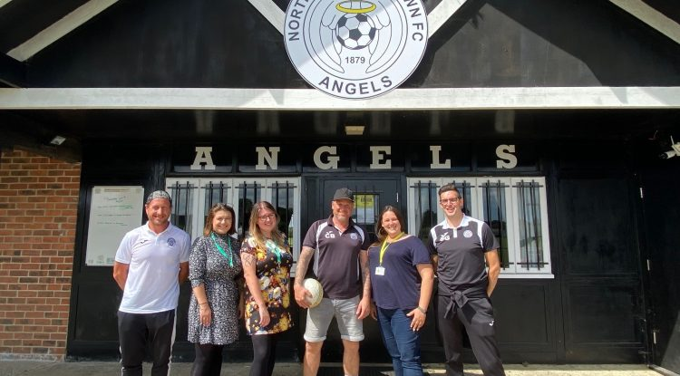 Creating more mental health champions in local sports clubs