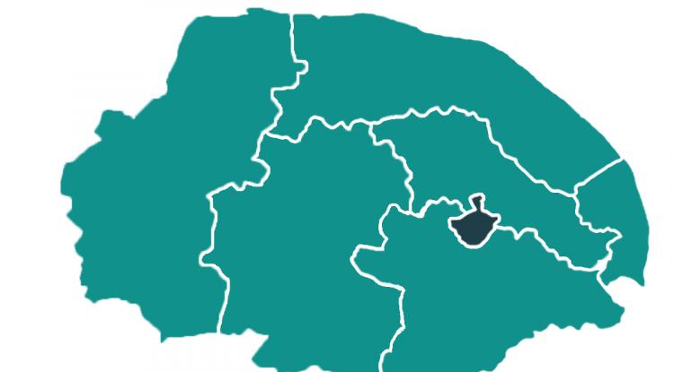 Norwich district
